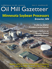 First Quarter 2016 Oil Mill Gazetteer